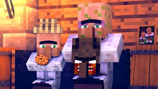 Granny vs Villager Life 5 - Granny Horror Game Minecraft Animation Alien Being
