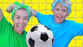 The Soccer Song   Nursery Rhymes & Kids Songs   Educational Video