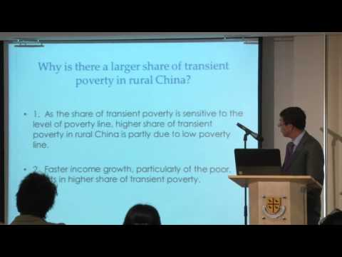 'Poverty Reduction and Effects of Pro-Poor Policies in Rural China' by Professor Li Shi