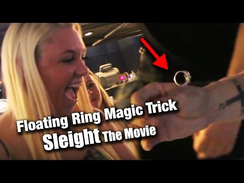 The Floating Ring Magic Trick - SLEIGHT the Movie