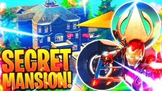 NEW $10 Million Dollar Mansion FOUND! (AVENGERS EASTER EGG) - Secret Fortnite Season 4 Locations
