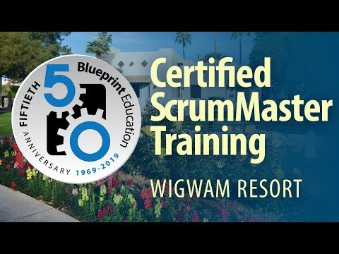 Scrum Alliance and Blueprint Education team up for Certified ScrumMaster Training at Wigwam Resort