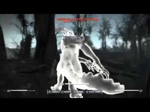 Fallout 4 - Legendary Alpha Deathclaw Fight