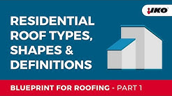 IKO Blueprint for Roofing Part 1 - Roof Types and Definitions