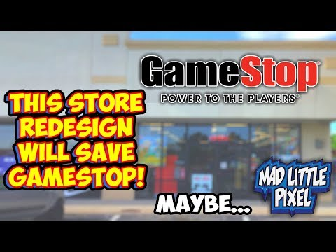 GameStop Reboot Strategy - Redesigned Store Shows Potential!