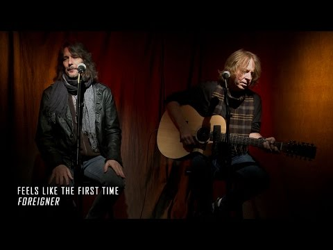 FOREIGNER - Feels Like the First Time acoustic performance