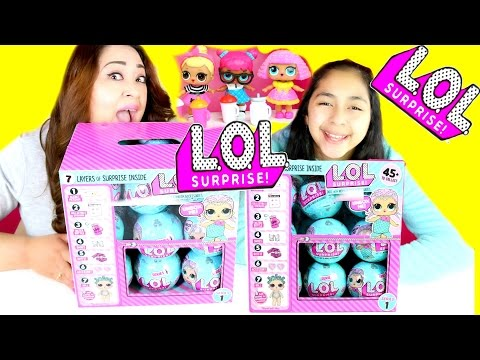 L.O.L Surprise Balls Opening 1 Entire Box |B2cutecupcakes