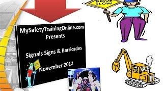 Signals Signs & Barricades Espanola Version 4.5