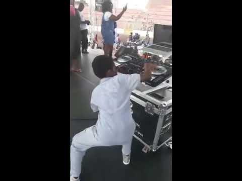Erica Tandoh Dj Switch Ghana Crazy Performance in Kumasi Sports Stadium