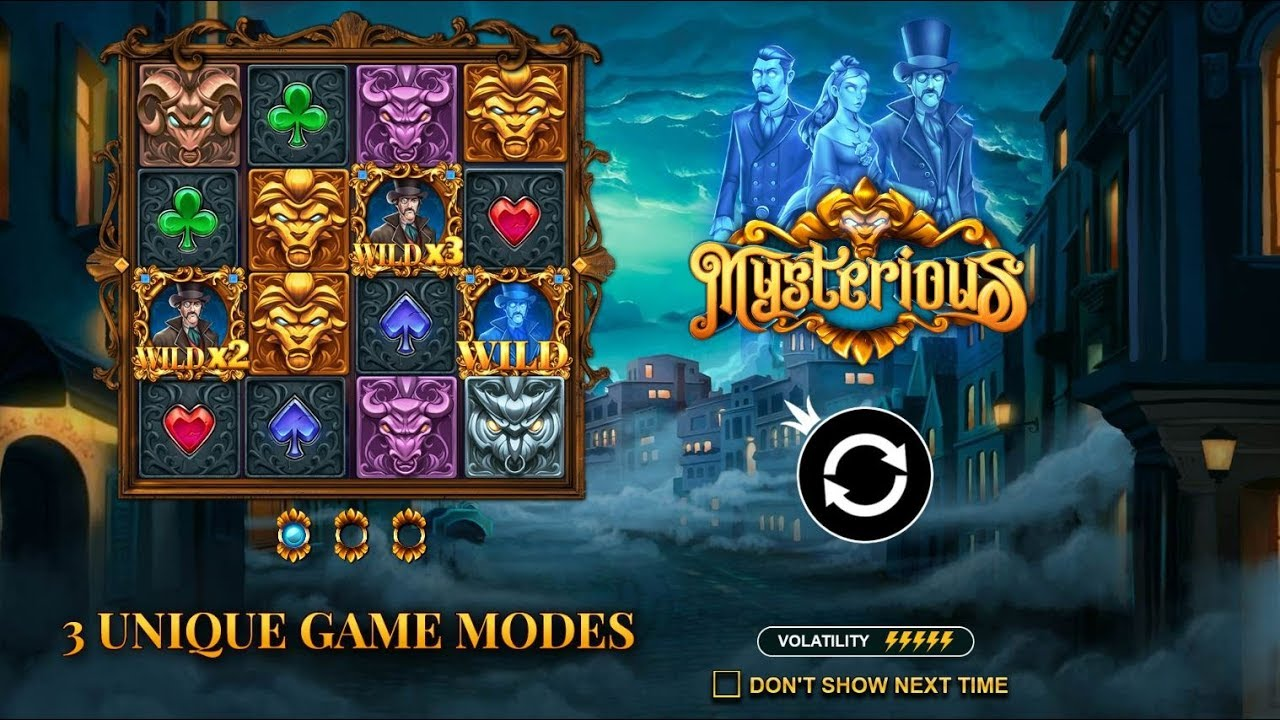 Mysterious Pragmatic Play Online Slot Youtube