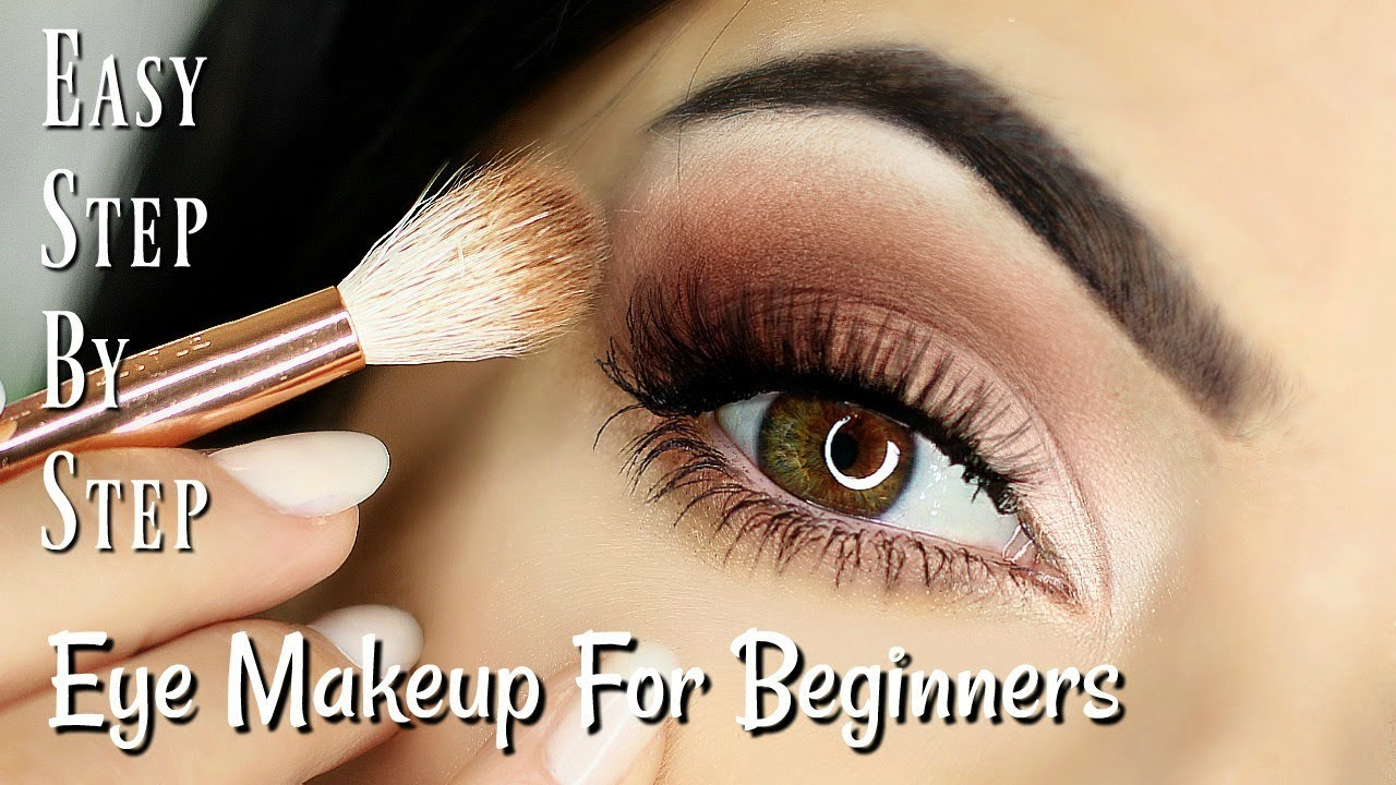 Beginners Eye Makeup Tutorial Parts Of The Eye How To