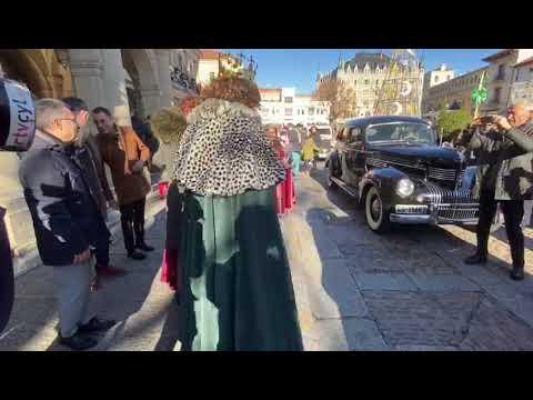 Los Reyes Magos llegan al Ayuntamiento