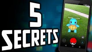 5 SECRETS SUR POKÉMON GO