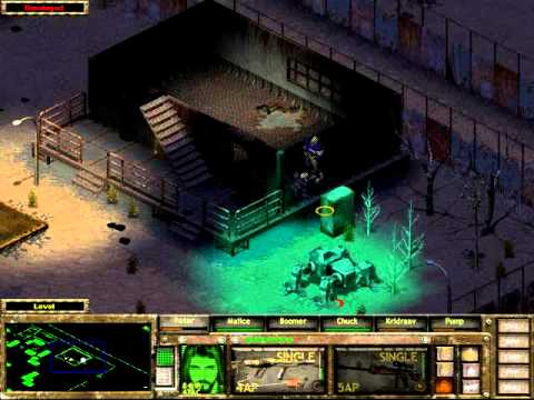 Fallout Tactics Walkthrough Part 22 Scott City