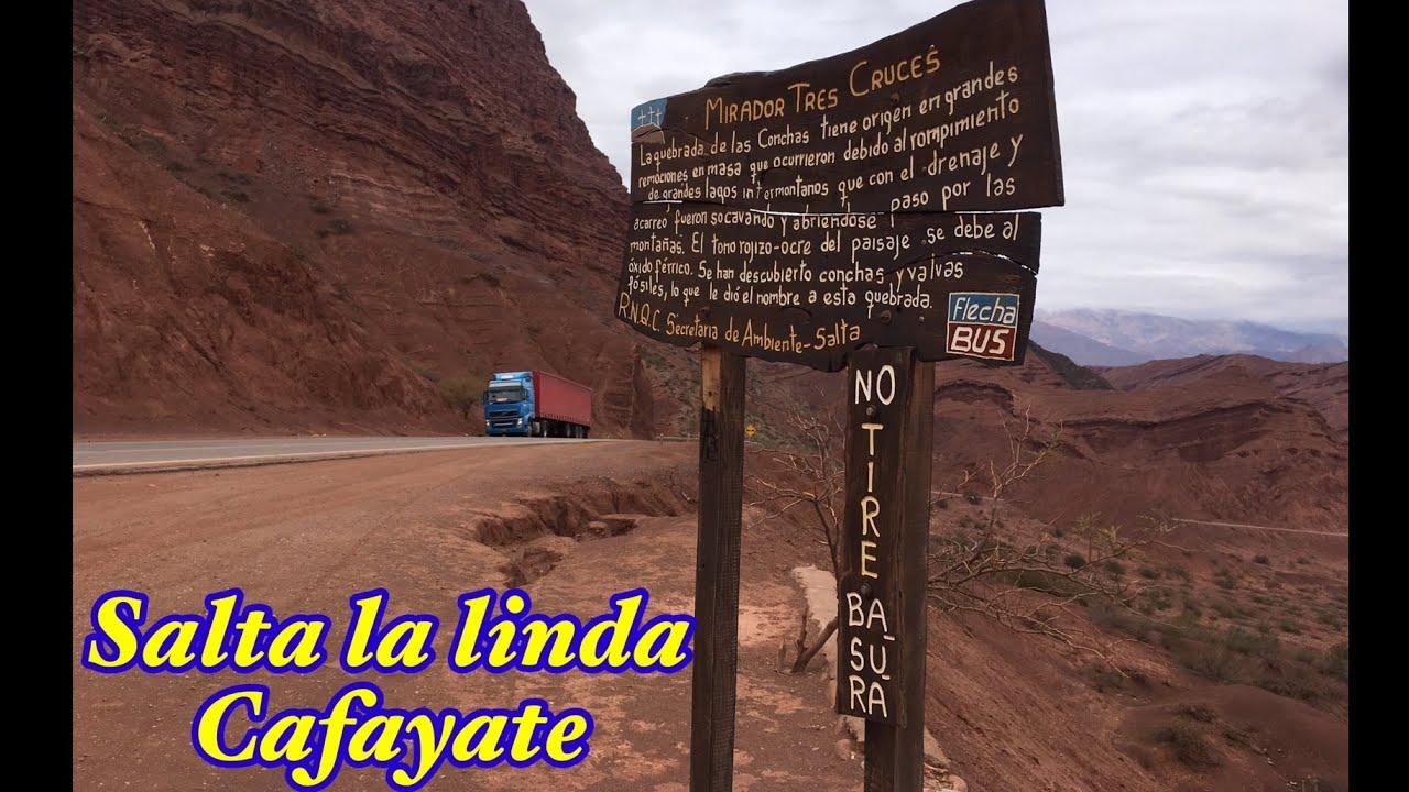 El hermoso paisaje de la ruta nacional 68 a cafayate salta