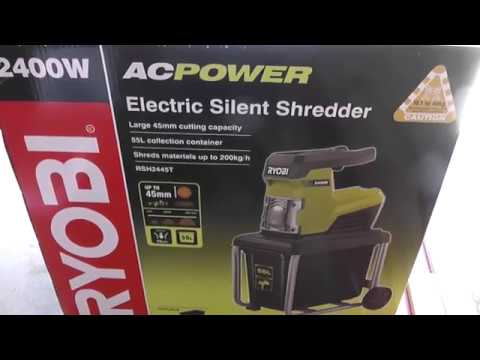 Ryobi Silent Shredder Review And Election Coverage 2016