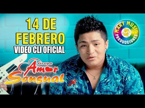 Amor sensual - 14 de febrero [Video cip oficial] Mary music producciones.