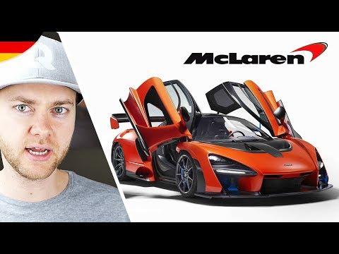 Neuer 922.000€ teurer McLaren P15 SENNA
