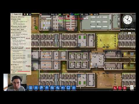 Prison Architect - Minimum/Normal Security Prison (FEMALE!) #9