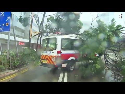"""Taifun """"Hato"""": Hong Kong ruft höchste Alarmstufe aus"""