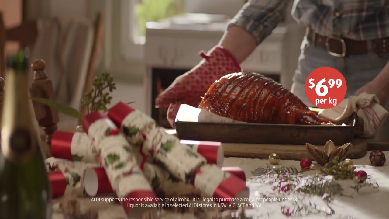 ALDI Christmas 2018_Champagne & Leg Hams