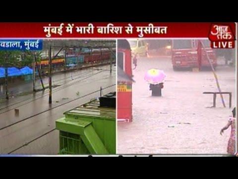 Rain Paralyzes Mumbai