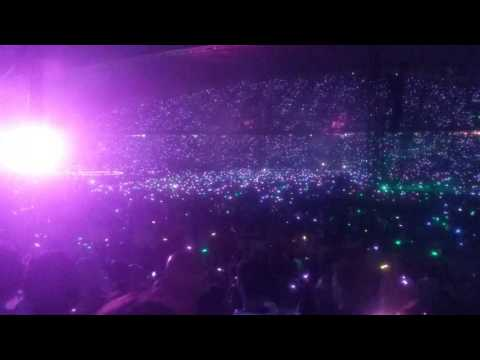 Coldplay live in Sydney Paradise December 2016