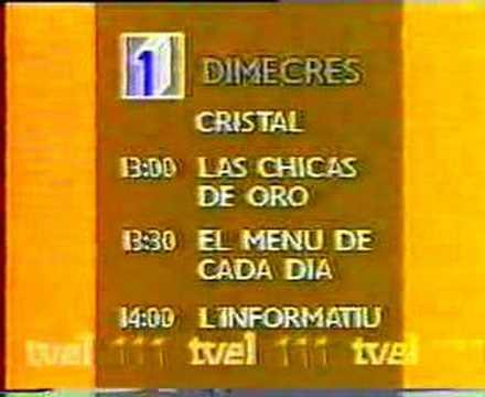 avanç programacio TVE catalunya from YouTube · Duration:  1 minutes 4 seconds