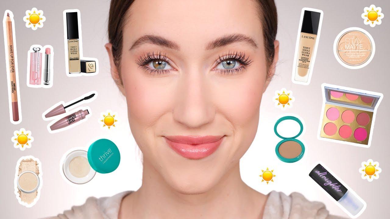 My current HEAT PROOF makeup ☀️