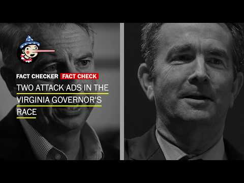Fact-checking attack ads on both sides of the Virginia governor