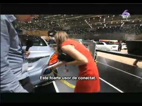 Mercedes C350 E hybrid Wall Box Geneva Auto Magazin 1 R 12 04 2015 pe 6TV