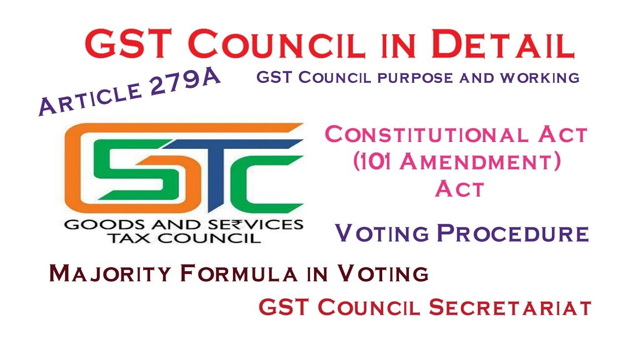 gst council article 279a members decisions rh youtube com