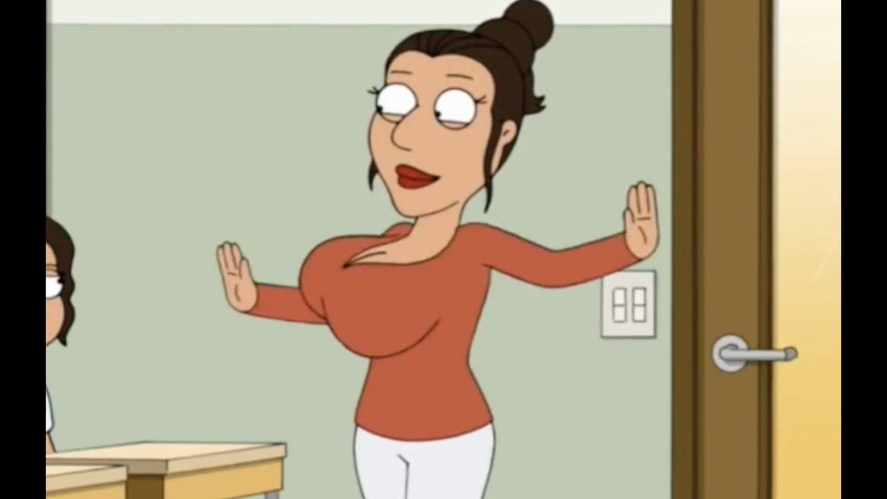 Family Guy sexy Italian teacher cutaway Reggae Song - YouTube