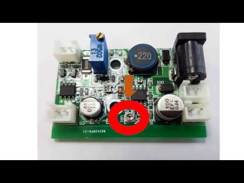 How To Wire 12v Ttl Step Down Laser Diode Ld Power Supply