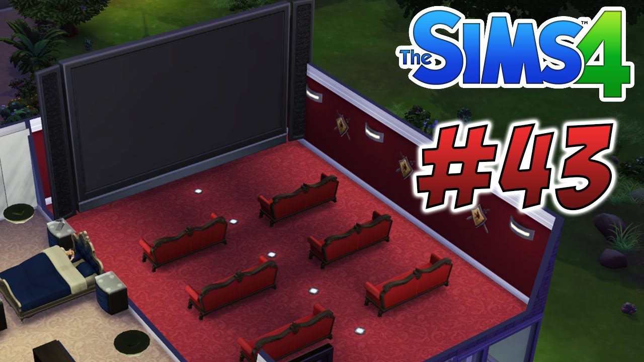 the sims 4 home cinema amp diamond agent 43 youtube