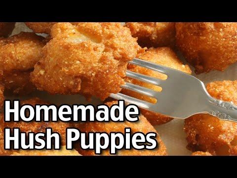 Easy Homemade Hush Puppies