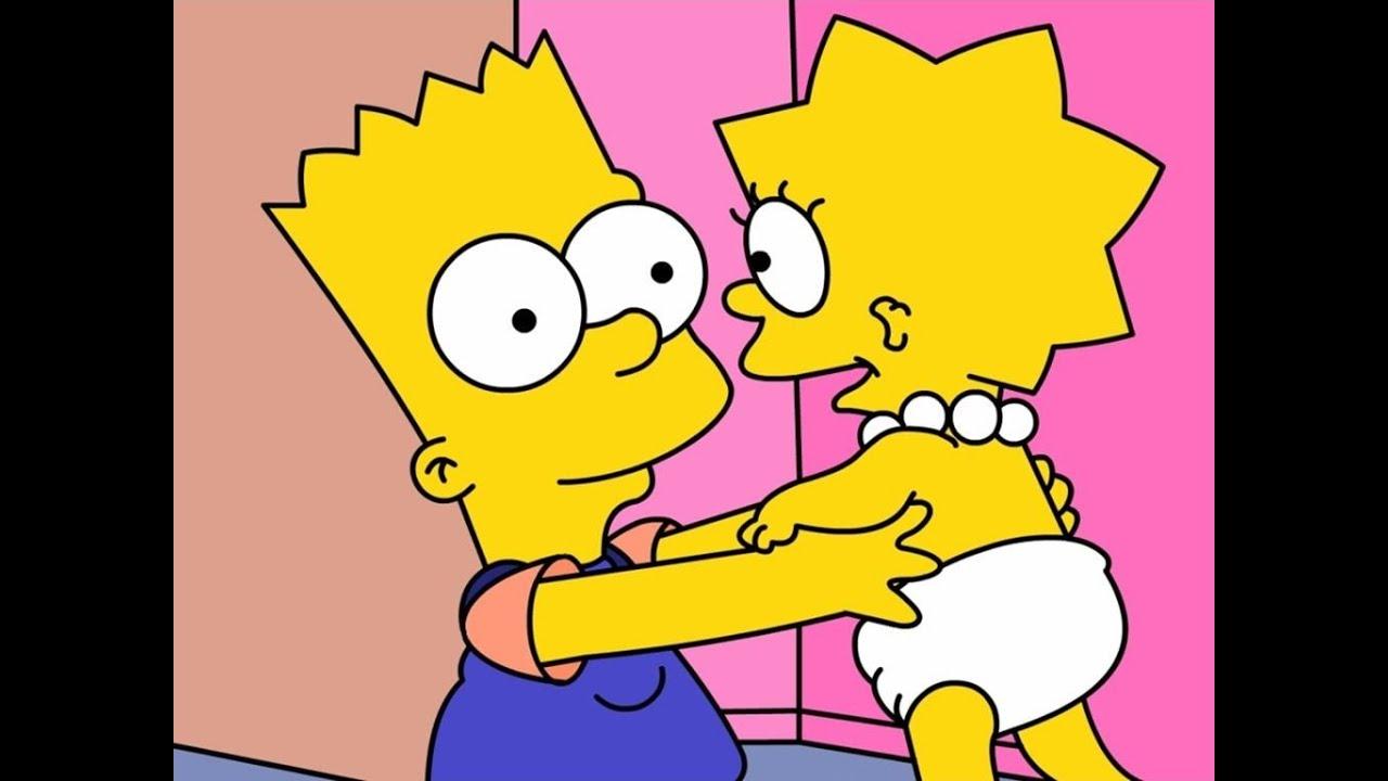 Los Simpson Lisa De Bebe Youtube