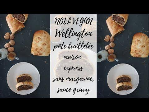 noel-vegan-wellington,-pâte-feuilletée-vegan-express-sans-margarine,-gravy-express-!-😊🎄