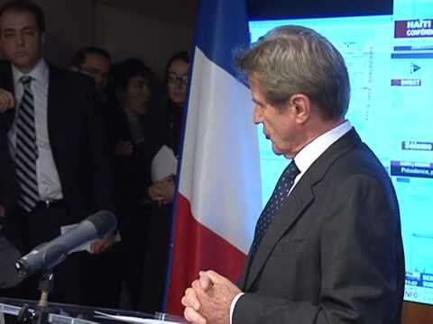 France sending aid to quake-struck Haiti: Kouchner