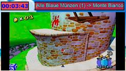 Super Mario Sunshine Blaue Münzen