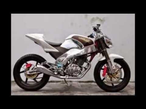 video foto modifikasi motor tiger revolution istimewa