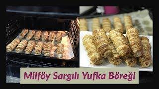Milföy Sargılı Yufka Böreği Tarifi (Kafes Böreği) - Naciye Kesici - Yemek Tarifleri
