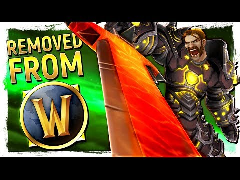 SCRAPPED! 10 World of Warcraft Mechanics That Blizzard Killed By Legion