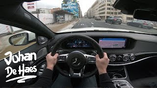 2017 Mercedes S-Class S400d Long 340 hp POV