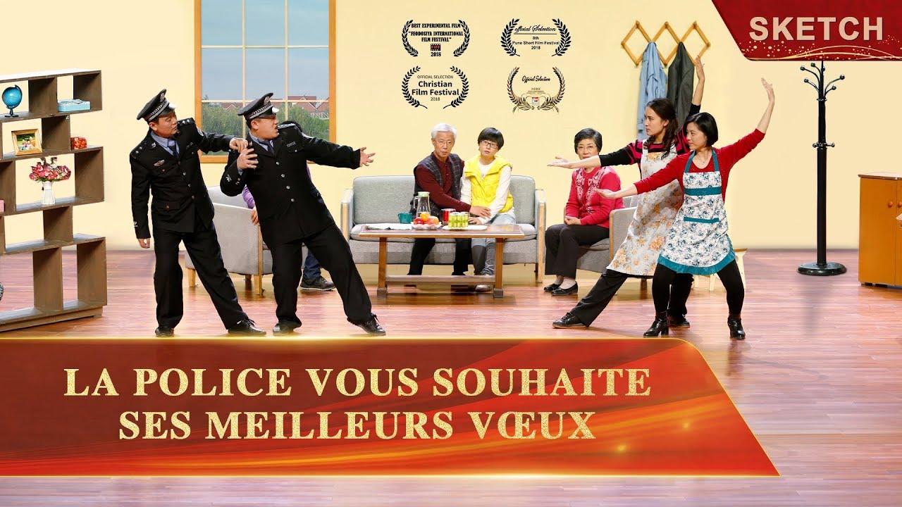 Nouveau sketch chrétien en français - La police vous souhaite ses meilleurs vœux