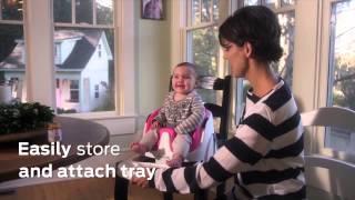 Smyths Toys - Ingenuity 2 In 1 Baby Base Poppy Red