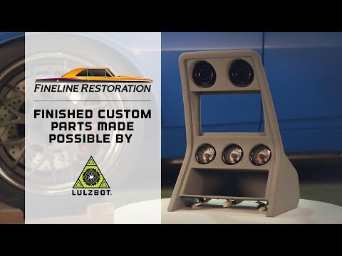 3D Printing Custom Car Parts: Fine Line Restoration