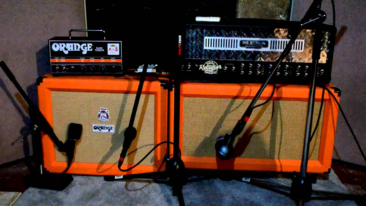 Mesa  Orange Dark Terror Tonality Test  YouTube