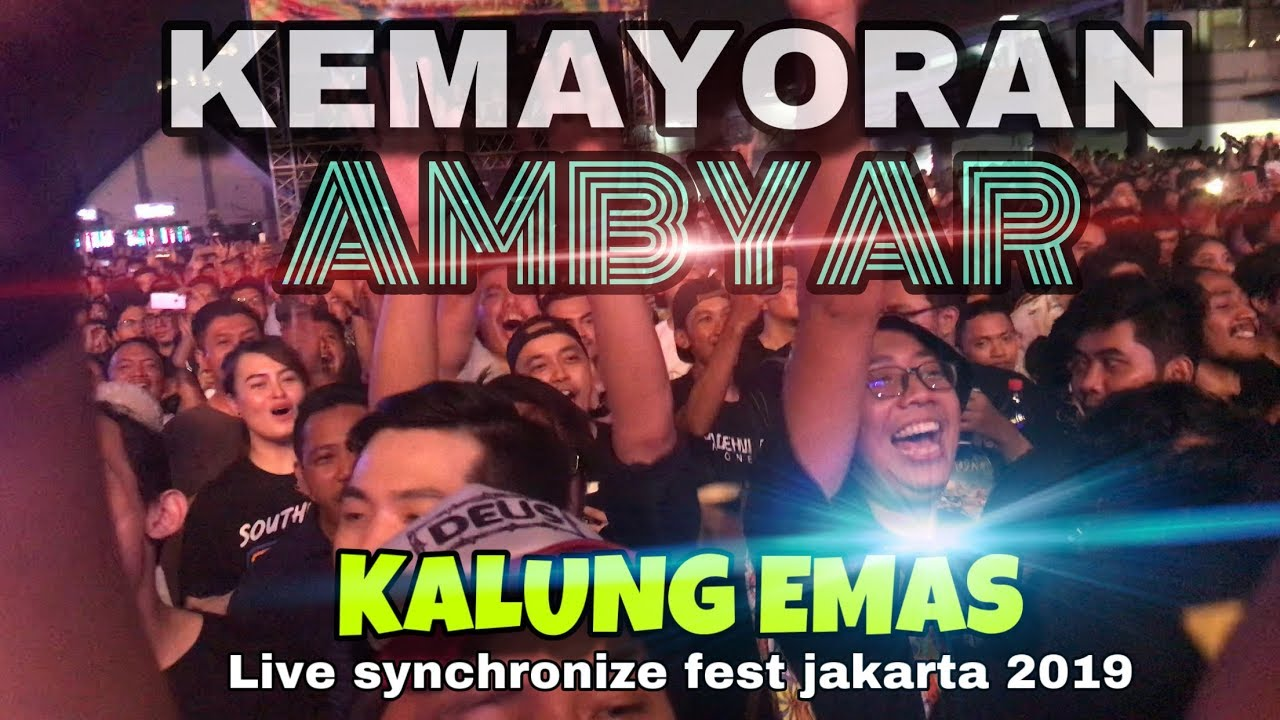 Kemayoran Ambyar Kalung Emas Didi Kempot By Super Ahmad