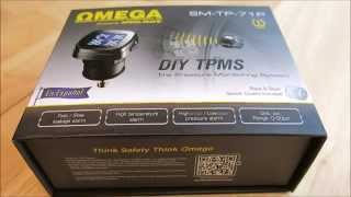 PRA7 Reviews Omega SM TP 71P Tire Pressure Monitor System